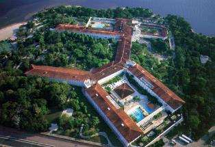 Tropical Manaus aerial view